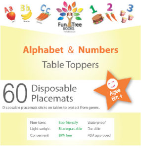 Table Toppers - ABC & 123