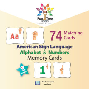 Alphabet and Numbers Memory Cards
